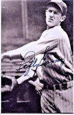 Lefty Gomez Signed photo COA R7/17 Choice of 5 plus Yellow HOF Postcard