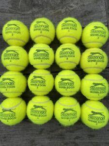 Barely Used Slazenger Wimbledon Tennis Balls