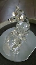 SWAROVSKI SILVER CRYSTAL WOLF 7550NR000002 w/ box & Zertifikate mint condition