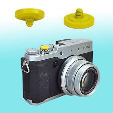 Yellow Soft Shutter Release Button JJC Brass FUJIFILM X20 Sony RX1S Olympus OM-1