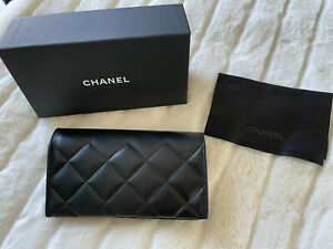 Chanel Soft Quilted Sunglass Case w/cloth, boxed