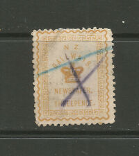 New Zealand 1890 3d Newspaper Stamp