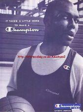 Champion USA Clothing 1996 Magazine Advert #4478