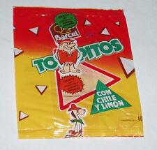 1970's Mexico Potato Chip Bag w/ Hanna Barbera Figure offer RARE mexican premium