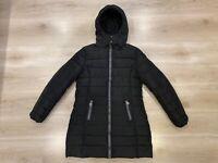Colmar Originals Women's Quilted Padded Down Hooded Black Coat Jacket Sz- Medium