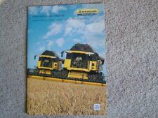 New Holland CX8000 Combine Brochure. MINT. 2009