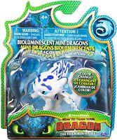 How To Train Your Dragon Lightfury Bioluminescent Mini Dragons Figure Toy New