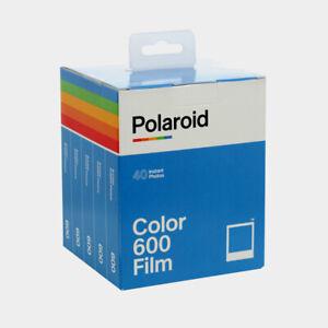 Polaroid 600 5er Pack mit 40 Aufnahmen Sofortbild Color Film NEU