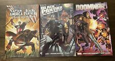 Lot of 3 Tpbs Marvel - Doomwar, Black Panther - Flags Of Our Fathers