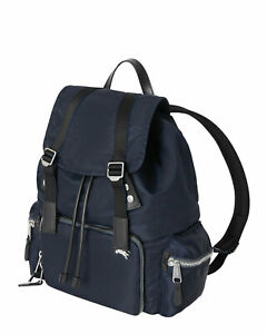 NEW $1290 AUTHENTIC BURBERRY LARGE BACKPACK RUCKSACK LEATHER NYLON AVIATOR