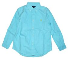 Polo Ralph Lauren Boys Oxford Classic Fit Long Sleeve Shirt Size 4 4T Years BNWT