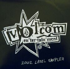 VARIOUS ARTISTS - VOLCOM ENTERTAINMENT LABEL SAMPLER 2002 - CD, 2002