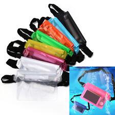 waterproof waist bag swimming drifting diving pouch waist belt bag phone pocH_ju
