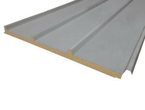 40mm Insulated Panels, Composite Pre-Finished Steel, various lengths available