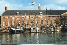"""Alte Postkarte - Amsterdam - Hippie-Wohnboot """"Robinson Crusoe"""" an der Amstel"""