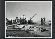 DICK POWELL DIRECTS ON LOCATION - 1956 CANDID - YOU CAN'T RUN AWAY FROM IT