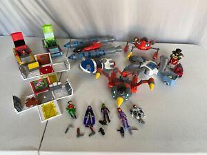 Teen Titans Go Lot -Action Vehicles & Characters DC Comics 2003/2004 Bandai Toys