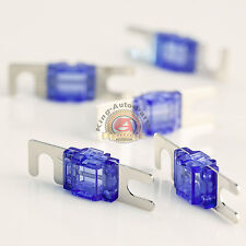 5 PACK 60 AMP MINI ANL FUSE FUSES NICKEL PLATED AFS 60