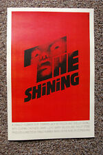 The Shining Lobby Card Movie Poster #3 Red Jack Nicholson