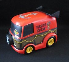 "Scooby Doo Pirate Crew Van Mystery Machine Pull Back 5"" X 4"" Hanna Barbera 2008"