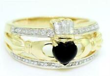 Gold Onyx Fine Rings