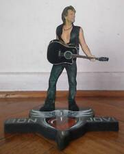 "BON JOVI DISPLAY 8"" STANDEE Figure Statue Cutout Jon Toy Standup Desk Decor Doll"