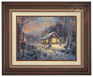 Thomas Kinkade Studios Holiday Tradition 18 x 24 LE S/N Canvas Framed