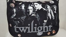 TWILIGHT Messenger Bag Book Bag Gym Bag 18 Collector's Twilight Pins Included
