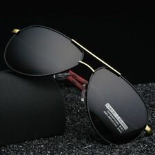 Details zu Herren Sonnenbrille Polarisiert Sportbrille Anglerbrille Blau Verspiegelt 55BOX