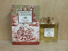 Manuel Canovas Paris Ballade Verte Eau De Parfum Spray 3.4 ozNew Sealed Box