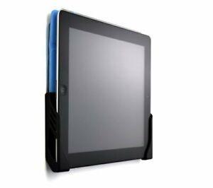 Wall Mounted Tablet Dock Holder for iPad 1, 2, 3, 4 iPad Kitchen Bathroom BLACK