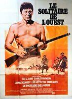 Plakat Kino Le Solitaire WESTERN Charles Bronson - 120 X 160 CM