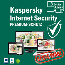 Kaspersky Internet Security 2018 3PC /Geräte 2Jahre Vollversion Key ESD Download