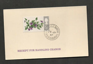 """Great Britain #492 """"Receipt For Handling Charge,"""" GPO Edinburgh, 1967. Topicals"""