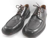 Coach Mens 9.5 D Brown Leather Oxfords Shoes