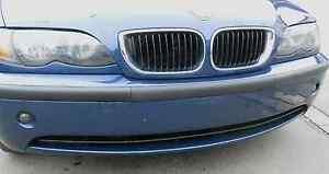 BMW E46 Blende Stoßstange ohne Nummerschildhalter Limousine Touring FACELIFT 3er