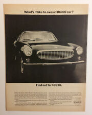 1966 Volvo P1800 S Ad  - Must See !!