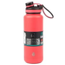 TAL Red 40oz (1.18L) Double Wall Vacuum Insulated Stainless Steel Water Bottle
