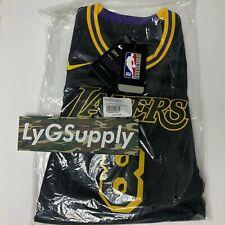 LA Lakers Kobe Bryant City Edition Black Mamba Swingman Kids Jersey Youth Medium