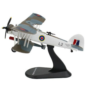1/72 Scale Fairey Swordfish Fighter Alloy Diecast Aircraft Collectable Gifts