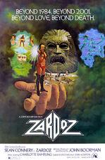 Zardoz - 1974 - Movie Poster