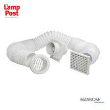 Manrose 100mm IN-LINE Doccia Timer Estrattore ventilatore VSF100T