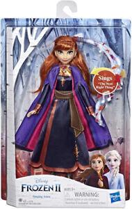 Disney Frozen 2 Singing Anna Doll 30cm Action Figure