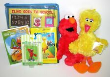 Sesame Street Toy Lot Isbn 1931312389 Elmo Goes To School