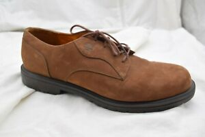 Timberland brown suede dress oxfords Mens dress formal shoes sz 13M 93071
