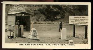 Tobacco Card, Mitchell, OUR EMPIRE, 1937, Khyber Pass NW Frontier India, #31