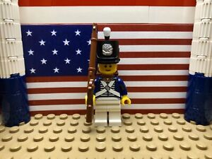 LEGO American Private Infantryman 1812-15 with Shako, Backpack & Musket