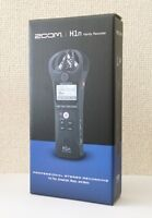 NEW ZOOM H1n Handy Portable Recorder with Cubase LE/WaveLab LE DL Licence JAPAN