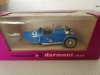 Brumm Cyclecar R3 Darmont 1929 Mint Model in Original box. shop stock.