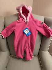 Columbia Baby Bear Bunting Fleece Pink 3-6 Months